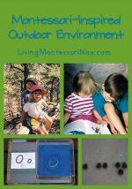 Montessori Monday – Montessori-Inspired Outdoor Environment