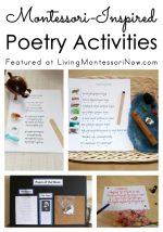 Montessori-Inspired Poetry Activities