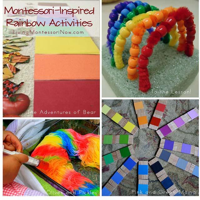 rainbow montessori preschool montessori inspired rainbow activities 454