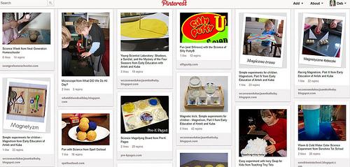 Kids' Science Activities Pinterest Board