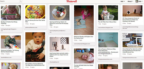 Babies - Activities and Ideas Pinterest Board