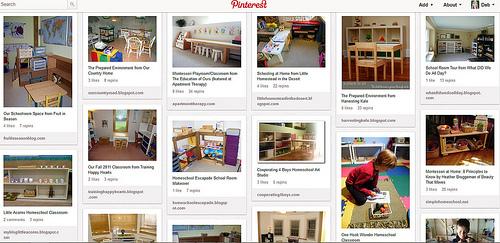 Montessori Homeschool Classrooms Pinterest Board