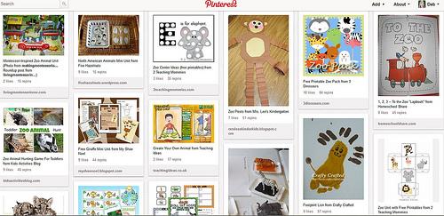 Zoo Animal Unit Study Pinterest Board