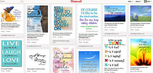 Word Art Inspiration Pinterest Board