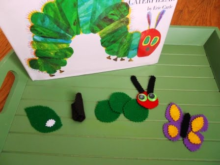 Caterpillar to Butterfly Tray (Photo from Little Wonders' Days)