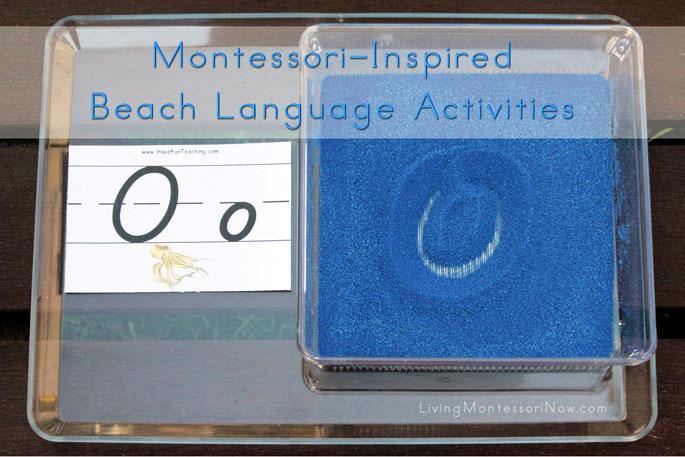 Montessori-Inspired Beach Language Activities Using Free Printables