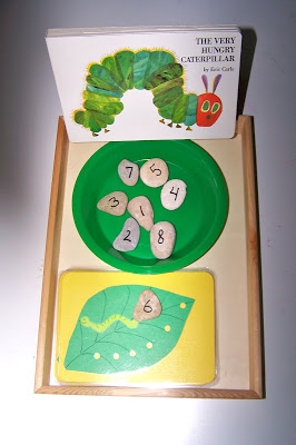 Counting with The Very Hungry Caterpillar (Photo from The Princess and the Tot)