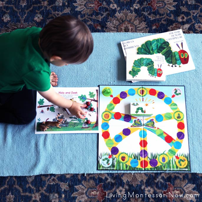 Having Fun with Hungry Caterpillar Activities on Eric Carle's Birthday