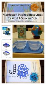 Montessori-Inspired Resources for World Oceans Day