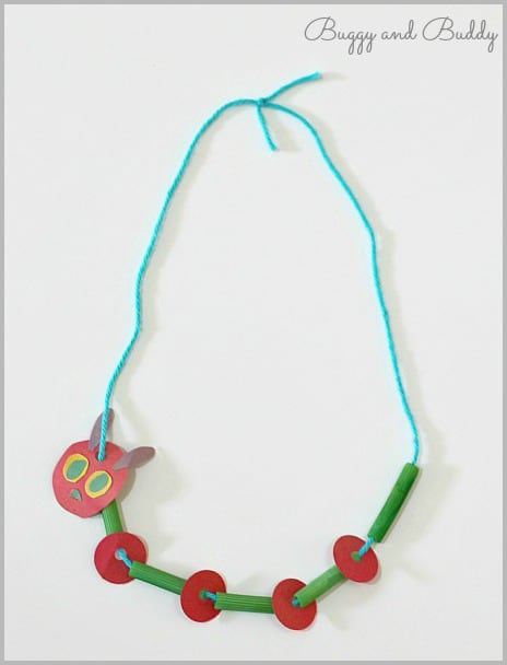 Very Hungry Caterpillar Necklace (Photo from Buggy and Buddy)