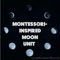 Montessori Monday – Montessori-Inspired Moon Unit