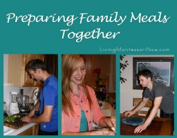 Preparing Family Meals Together