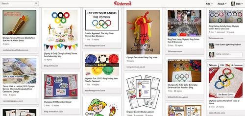 Pinterest - Olympic Unit Study