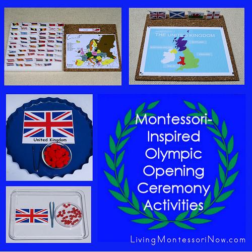Montessori-Inspired Olympic Opening Ceremony Activities
