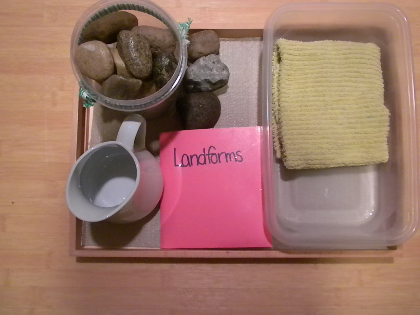 Landform Tray (Photo from Discovery Moments)