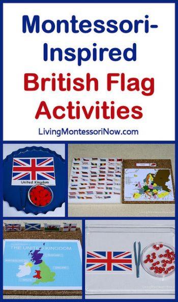 Montessori-Inspired British Flag Activities