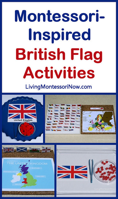 Montessori-Inspired British Flag Activities