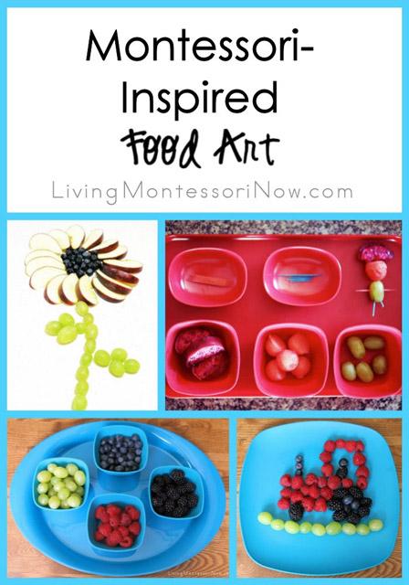 Montessori-Inspired Food Art