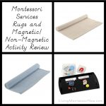Montessori Services Rugs and Magnetic/Non-Magnetic Activity Review & Giveaway (ARV $48)