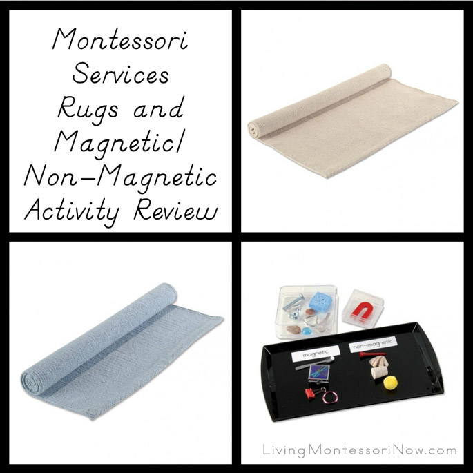 Montessori Services Rugs and Magnetic/Non-Magnetic Activity Review