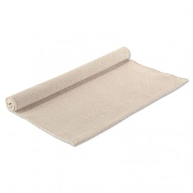 Large Hemmed Work Rug in Natural/Off-White (Photo from Montessori Services)
