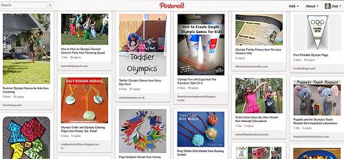 Olympic Unit Study Pinterest Board