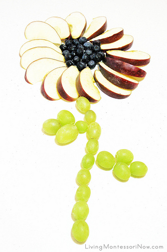 Montessori-Inspired Food Art