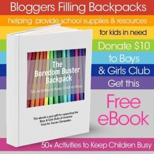 Bloggers Filling Backpacks