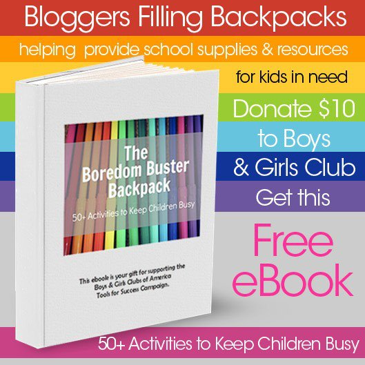 Bloggers Filling Backpacks