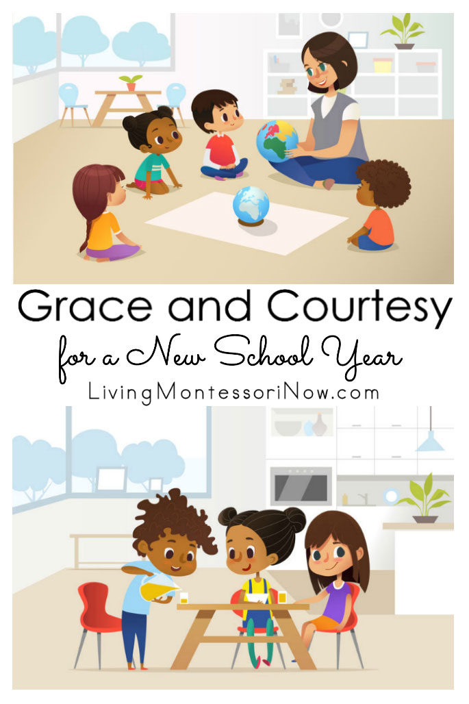 Grace and Courtesy for a New School Year