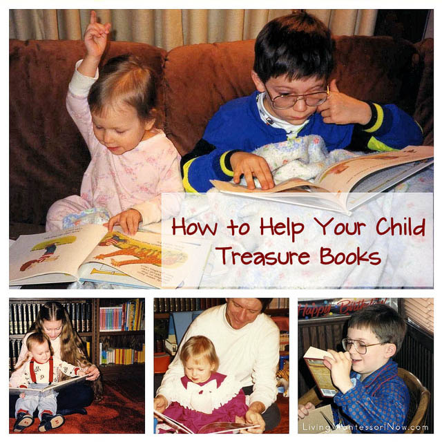 How to Help Your Child Treasure Books