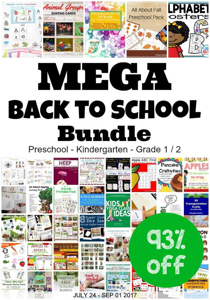 Get Ready for the New School Year with the Mega Back to School Bundle (93% Off!)