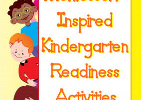 Montessori-Inspired Kindergarten Readiness Activities