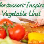 Montessori-Inspired Vegetable Unit