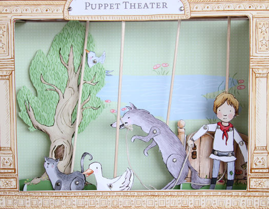 Peter and the Wolf Puppet Theater from Sarah Jane