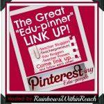 3 Pinterest Link-Ups: Edu Pinners, ECE Pinners, and Kinder Pinners!
