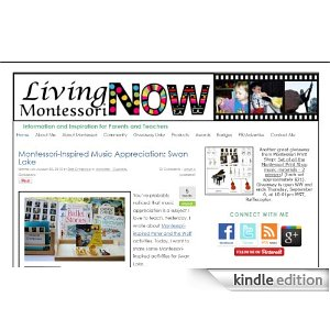 Living Montessori Now in the Amazon Kindle Store
