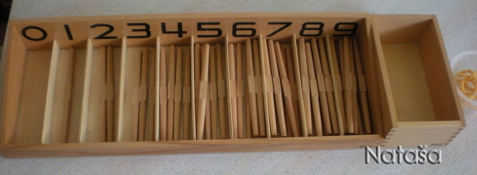 Purchased Spindle Box for a Montessori School (Photo from Leptir)
