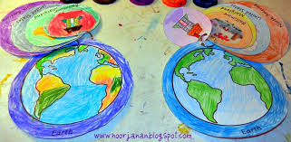 Me on the Map (Photo from Noor Janan Homeschool)