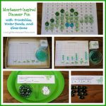 Montessori-Inspired Dinosaur Fun with Free Printables, Water Beads, and Glass Gems