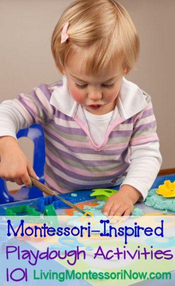 Montessori-Inspired Playdough Activities 101