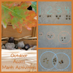 Outdoor Acorn Math Activities
