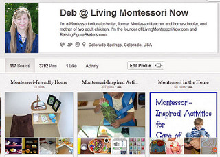 Pinterest - Deb @ Living Montessori Now