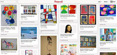 Kids' Art Appreciation Pinterest Board