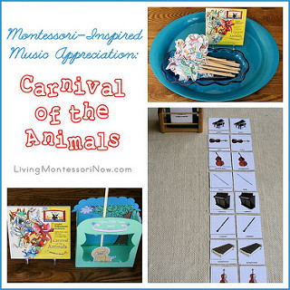 Montessori-Inspired Music Appreciation: Carnival of the Animals