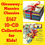 Giveaway – Maestro Classics $167 10-CD Collection for Kids!