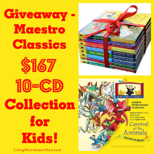 Giveaway - Maestro Classics $167 10-CD Collection for Kids