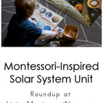 Montessori-Inspired Solar System Unit