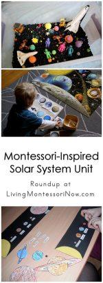 Montessori-Inspired Solar System Unit