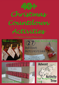 40+ Christmas Countdown Activities